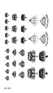 Hc1165 Vodotěsné Falešné Tetování Samolepky černá Fast Tetování Malé
