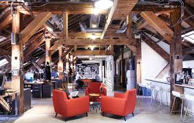 great office spaces. great offices sid leeu0027s lofty space inside a distillery district landmark office spaces c