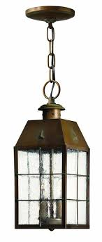 hinkley outdoor lighting. hinkley lighting h2372 2 light outdoor lantern pendant from the nantucket collec aged brass