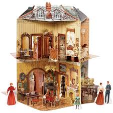 Victorian House Exterior For Doll VICTORIAN STYLE HOUSE INTERIOR - Dolls house interior