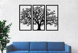 metal wall art large tree of life