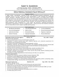 Insurance Sales Resume Examples Insurance Sales Resume Examples Medical Specialist Example Group Rep 7