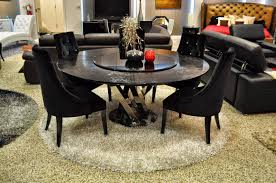 oval glass dining table 6 chairs black v shape room