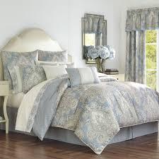 palermo comforter set cerulean blue