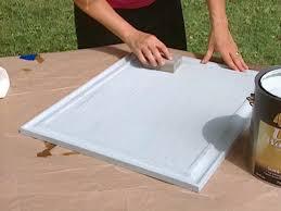 apply single coat of slick surface primer to door