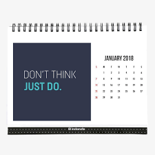 motivational 2018 desk calendar 2018
