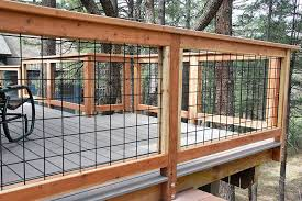 Metal deck railing ideas Railing Systems Wild Hog Brand Metal Deck Railing Installed On Deck In Kachina Village Near Flagstaff Arizona The Railing Consists Of Black Painted Welded Wire On Pinterest Wild Hog Brand Metal Deck Railing Installed On Deck In Kachina