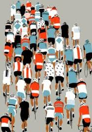 peloton 2013 by eliza southwood on peloton abstract cycling team metal wall art with cycling posters for sale at allposters