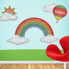 Small Picture Disco Rainbow Wall Stickers Contemporary Wall Decals by My
