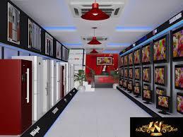 Electronic Interior Design Rpg Electronics Showroom Interior By Yogesh Tripathi At