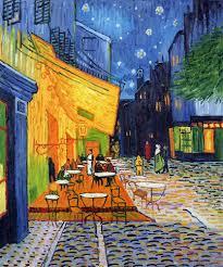 cafe terrace at night vincent van gogh painting at art com