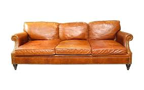 luxury furniture consignment seating sofa ralph lauren leather brown couch