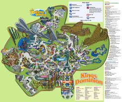 NewsPlusNotes: Kings Dominion 2008 Park Map