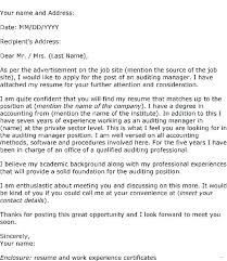 Opening Lines For Cover Letters Resume Template Directory
