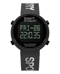 watches shop men s watches online now superdry digi pedometer