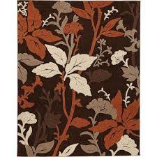 blooming flowers brown rust