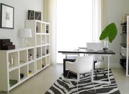 black and white office design. Modern Home Office Design With Black And White Desk   . R