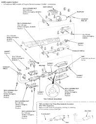 1995 honda accord engine diagram fresh repair guides exhaust system safety precautions