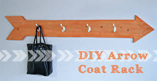 Cute Coat Racks DIY ArrowShaped Coat Rack Better After 82
