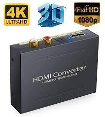 Microware <b>HDMI Audio Extractor Splitter HDMI</b> In to <b>HDMI</b>: Amazon ...