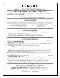 Aircraft Mechanic Resume Template Aircraft Mechanic Resume Example ...