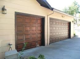 how to paint metal garage doors look like woodgarage door wood