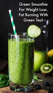 fat burning green tea and vegetable