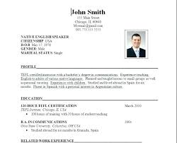 Updated Resume Examples Gorgeous Current Resume Format Examples Chronological Resume Format Examples