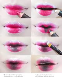 cosplay dolly lips makeup tutorial by mollyeberwein