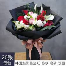 How To Wrap Flower Bouquet In Paper Usd 6 75 South Korea Phantom Star Paper Flower Paper Rose