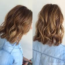 Balayage Hair Natural Brown Balayage Short