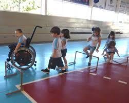 Resultado de imagem para educação fisica escolar inclusiva