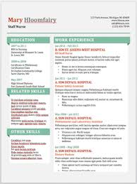 Modern Resume For Product Specialist 19 Free Resume Templates You Can Customize In Microsoft Word