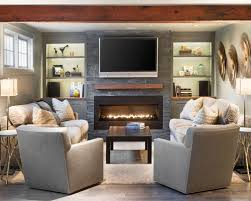 traditional furniture living room. inspiration for a timeless living room remodel in boston with ribbon fireplace traditional furniture n