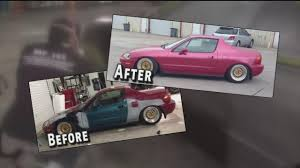 rubber paint sprucing up cars at fraction of paint job cost abc13 com