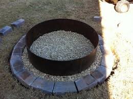 unique culvert fire pit ring it s the pits bower power