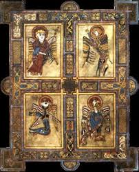 cover stories a page from the book of kells