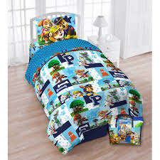 Bed sheets for twin beds Duvet Cover Educatemcinfo Paw Patrol Bedding Collection Walmartcom