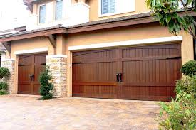 interior stain grade custom wood garage doors unlimited typical stained impressive 10 stained garage