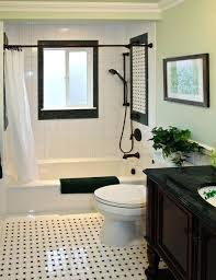 black and white tile bathroom traditional bathroom by design black and white tile bathroom wall color