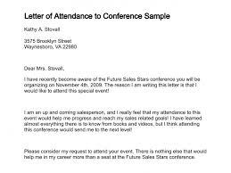 Letter Of Attendance Template Certificate Of Attendance Sample