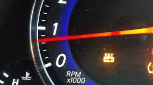 Nissan Key Light On My 2008 G35 I Get A Small Yellow Key Light Displayed Only