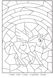 Print unicorn coloring pages for free and color our unicorn coloring! Free Printable Magical Unicorn Colour By Numbers Activity For Kids In 2021 Unicorn Coloring Pages Kindergarten Activity Sheets Coloring For Kids