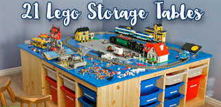 lego table 21 best lego storage tables