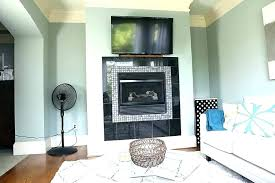fireplace without mantle design inspirational how to decorate a of wood