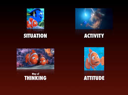 conflict narrative first the structure of finding nemo