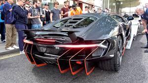 $2.5Million Lamborghini Centenario CAUSES CHAOS in London! - YouTube