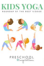 the best kid yoga videos pre