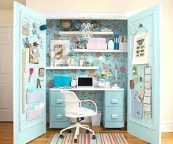 office space saving ideas. Space Saving Desk Ideas View In Gallery Closet Office 6 Computer