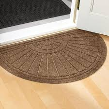 half round doormats at brookstone now